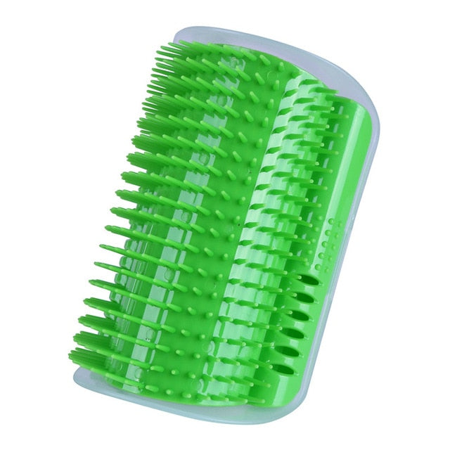 Angle Face Tickling Massage Catnip Brush Combs Cat Scratch Board Scratchers Scratching Post Cat Grooming Pet Supplies Friction