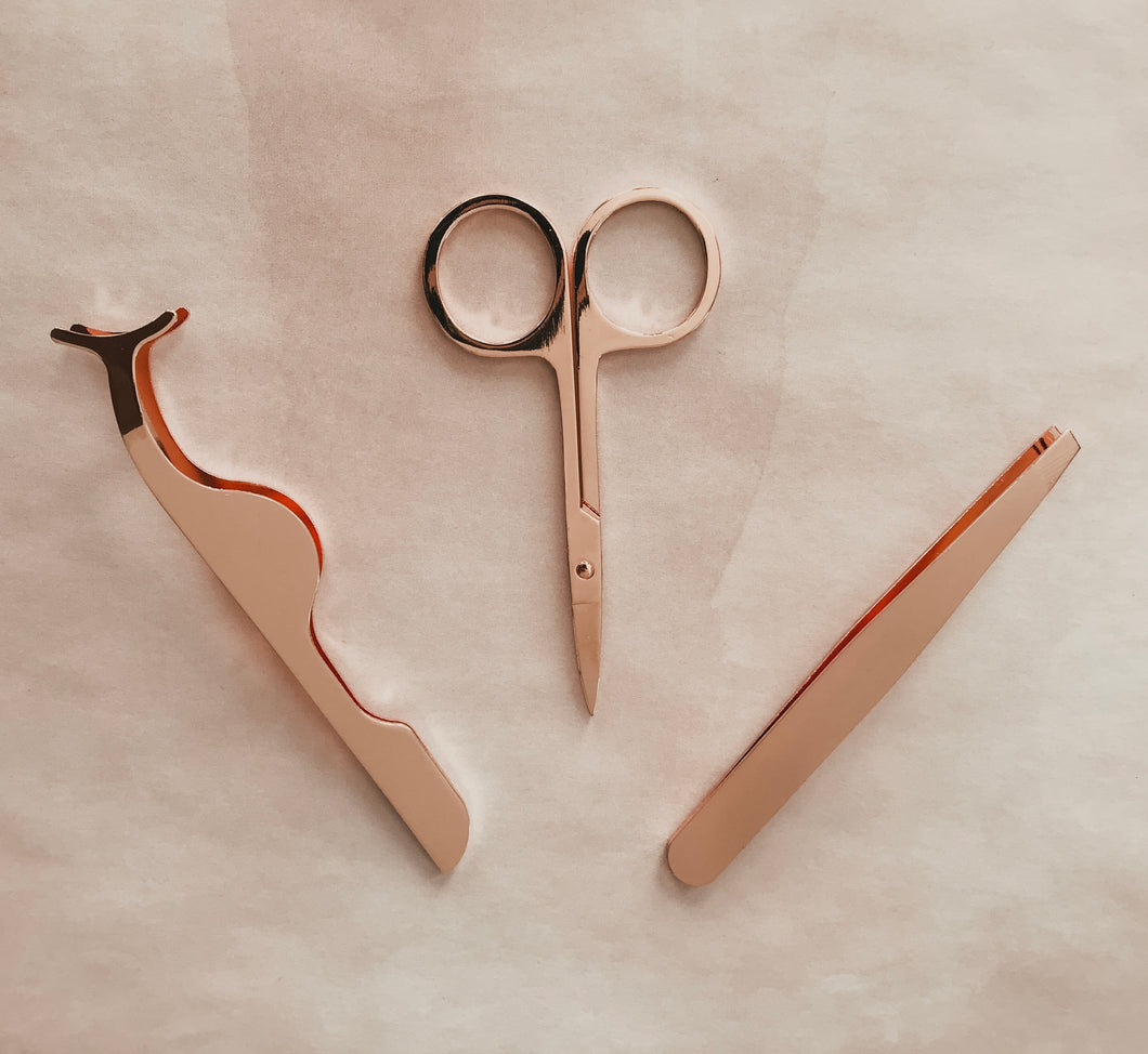 Rose Gold Tool Trio
