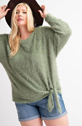 FALL IS CALLING SOFT ANGORA SWEATER