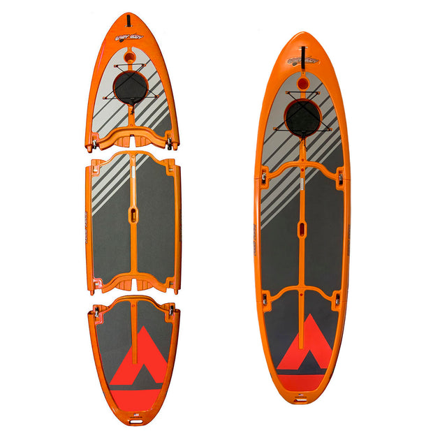Easy Eddy Three-Piece Stand Up Paddle Board