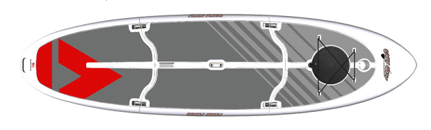 Easy Eddy Three-Piece SUP Paddleboard Kit - Easy Eddy Paddle Boards