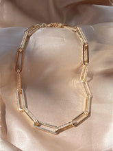 Load image into Gallery viewer, Born to Flex Gold Diamond Chain Necklace