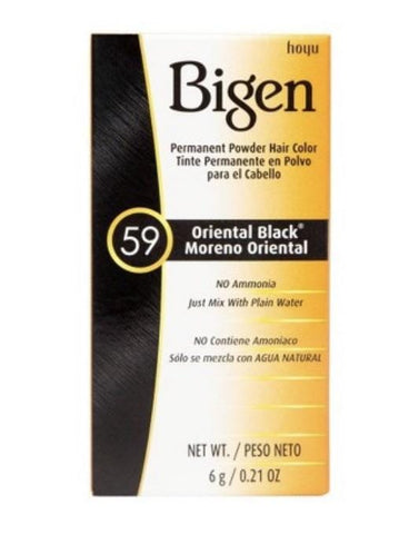 Bigen Permanent Hair Color Powder