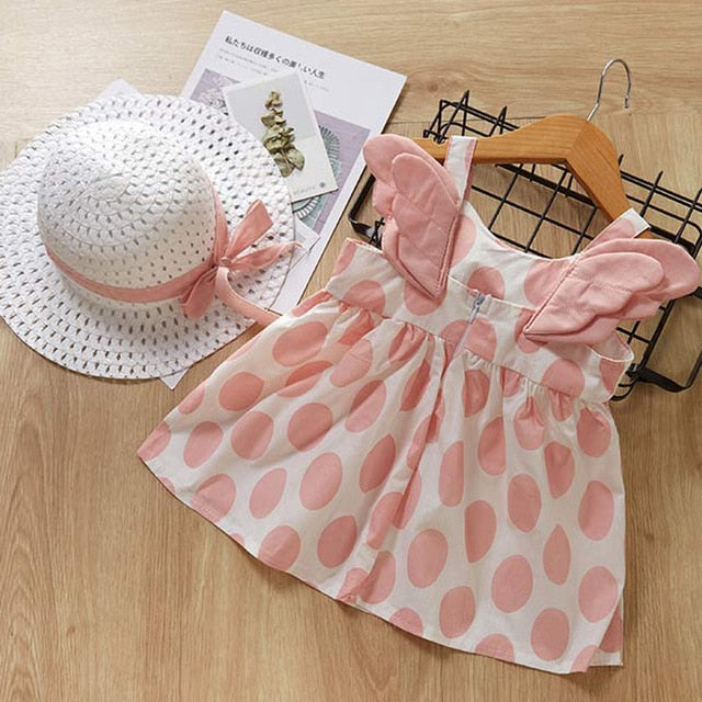 Bear Leader Baby Girl Dresses 2019 Newborn Toddler Sundress Girls Summer Kids Princess Dresses