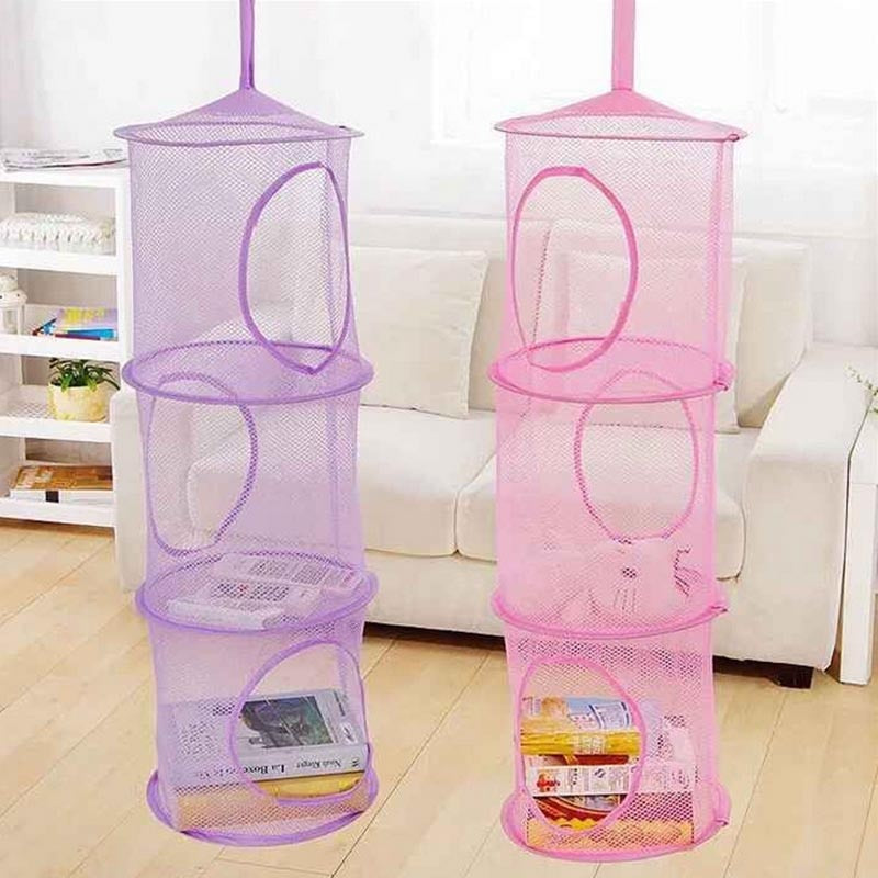 Baby Bed Hanging Storage Bag Crib Organizer Toy Diaper Pocket