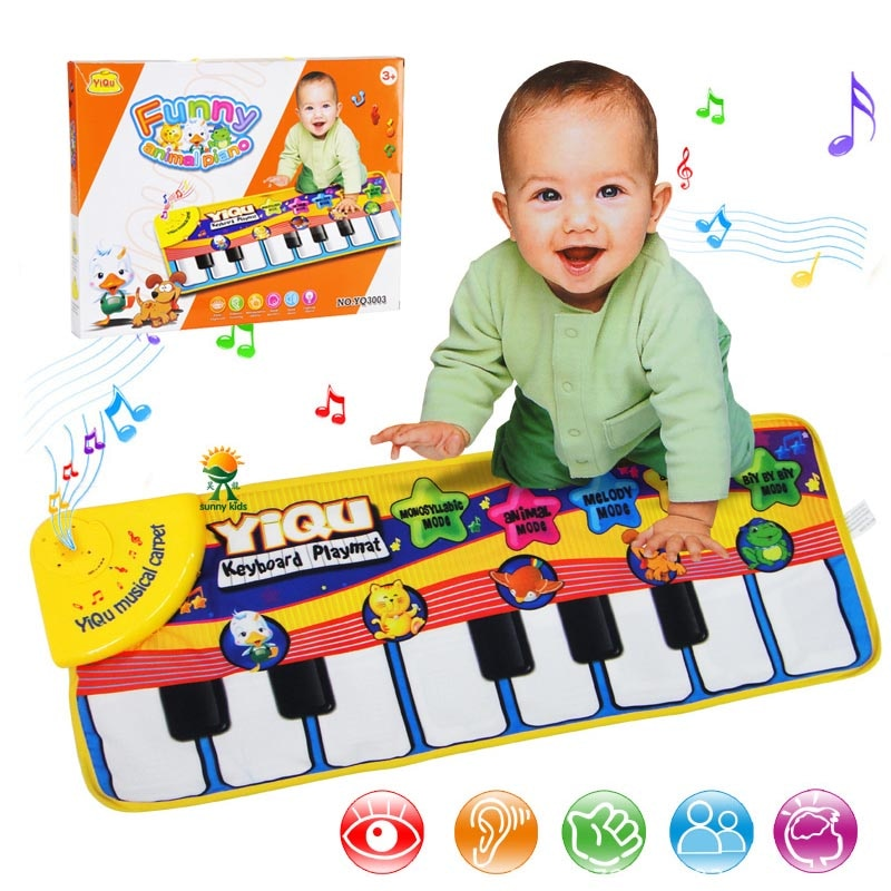 Musical Carpet Keyboard Playmat Music Play Mat Piano Early Learning Educational Toys
