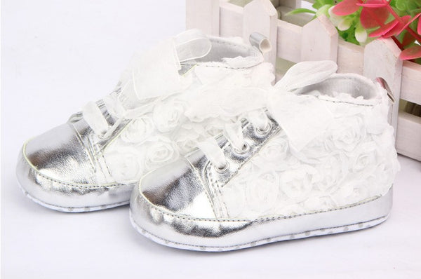 Baby Toddler Shoes Kids Flower Soft Sole Girl First Walkers