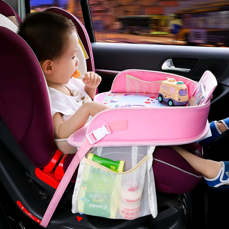 Multi-function Car Safety Seat Plate Car Painting Table baby Eating Table For Children