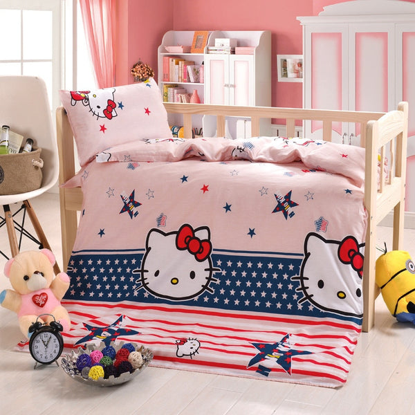 Baby Bedding Set Cotton Crib Sets Baby Cot Set Including Quilt Cover Pillowcase