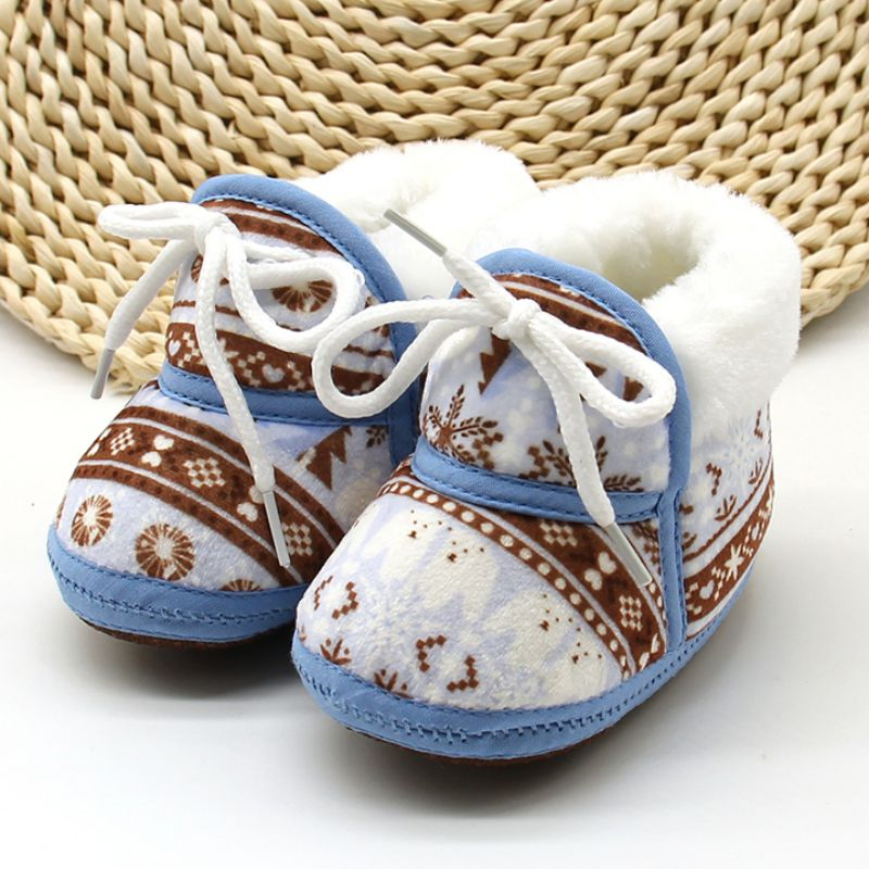 Baby Shoes for Newborns Infant Soft Soled Footwear Walking Shoes Winter Toddler