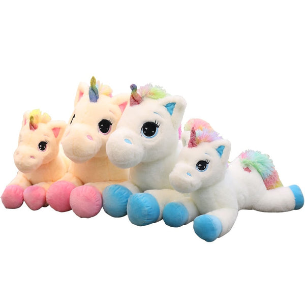rainbow unicorn plush toy children's toys animal plush toys baby toys