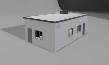 "Small Yard Office or Commercial Job Site Office ""Easy Build"""