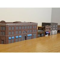 """ Chook "" Urban City Building - Z Scale - 1:220 -No Assembly Required!"