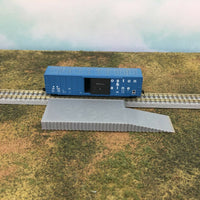 Long Loading Platform Dock with Ramp - Z Scale 1:220 - No Assembly Required!