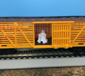 "GHOST Figure - O Scale 1:48 ""The Ghost of Boxcar Willie"" - Halloween NEW Design"