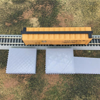 2 pc Loading Platform Dock with Ramp - N Scale 1:160 - No Assembly Required!