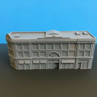 """ The Courtyard ""Urban City Building - Z Scale - 1:220 - No Assembly Required!"