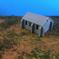""" Small Town Church "" Urban City Building - Z Scale 1:220 - No Assembly! Chapel"