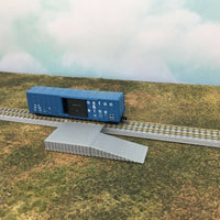 Loading Platform Dock with Ramp - Z Scale 1:220 - No Assembly Required!