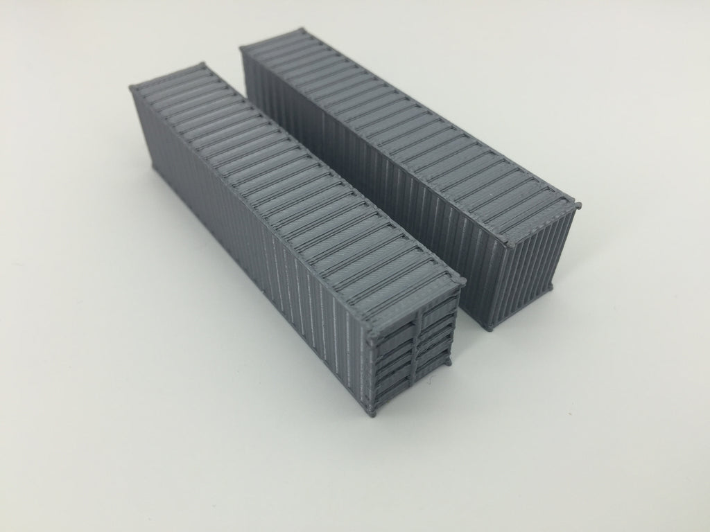 (2) 40' Shipping Containers - ALL COLORS AVAILABLE!