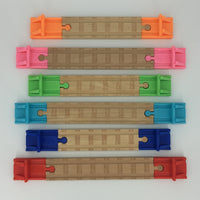 (2) Pack of Wooden Track Buffer/Bumpers - Choose Color!