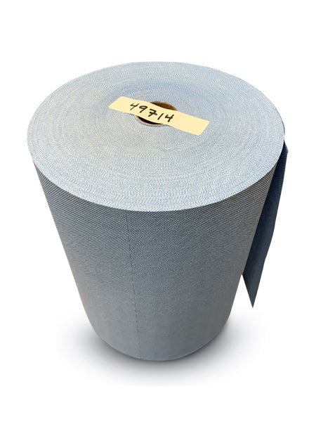 DRC Jumbo Cored Blue Heavy Duty Roll Towel - 500 Sheets
