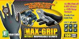 black max grip textured nitrile