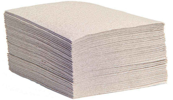 natural flat pack drc wiper sheets