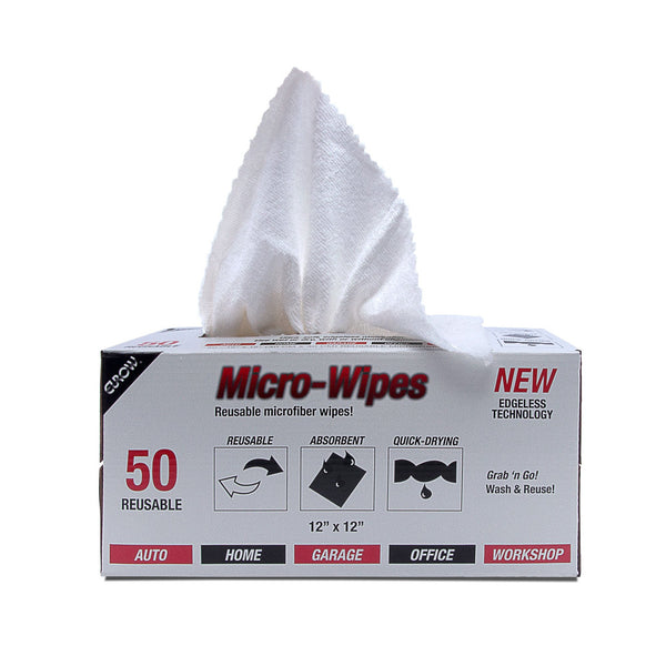 "Microfiber 12"" x 12"" with Dispenser Box 50 pack"
