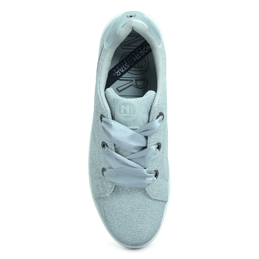 North Star Glittery Sneaker for Girls