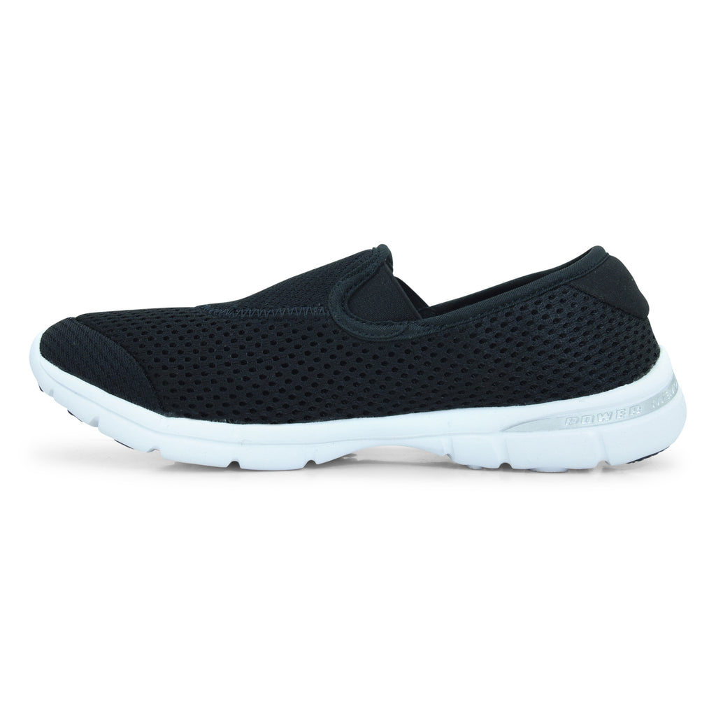 Power Slip-On Black Sneaker for Women
