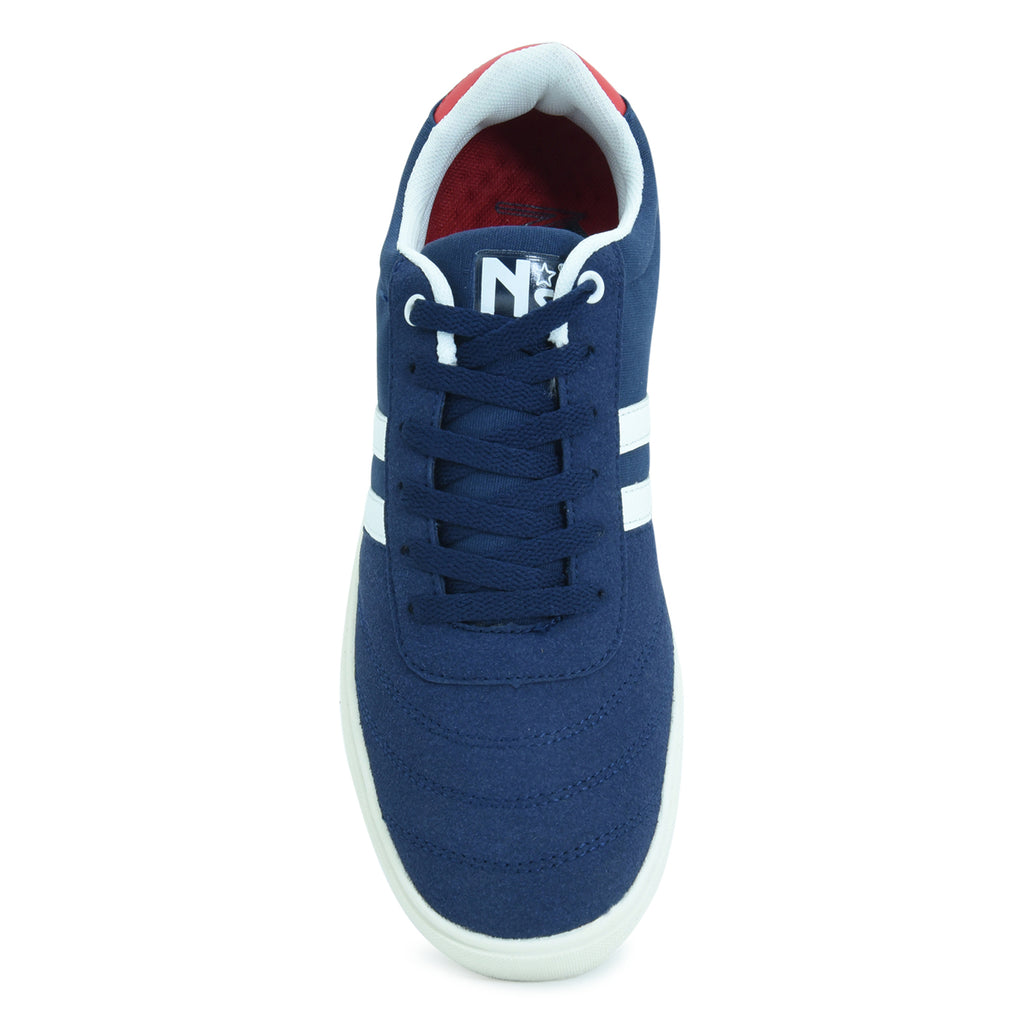 North Star Blue Casual Sneaker for Men