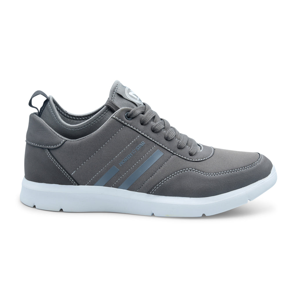 North Star Casual Sneaker in Grey for Men