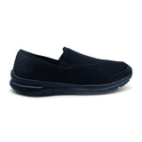 Black Sporty Slip-On Sneaker for Men by Power