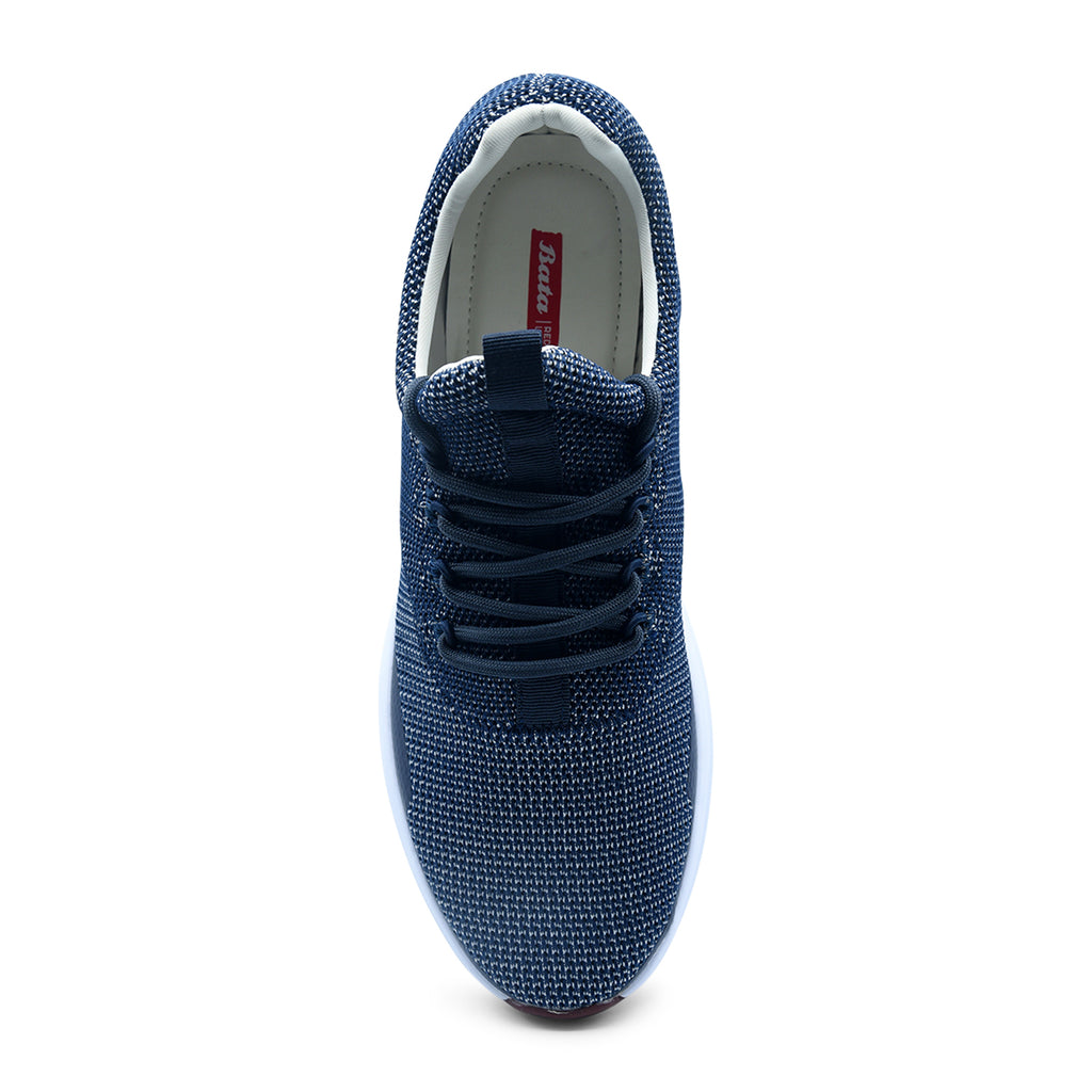 Bata Red Label Lace-Up Shoe in Blue