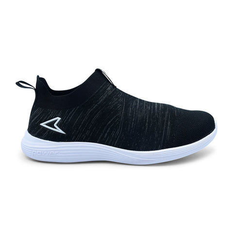 Power Walking Black Sneaker
