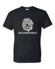 Load image into Gallery viewer, Goldendoodle t-shirt crew neck black