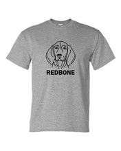 Load image into Gallery viewer, Redbone t-shirt crew neck grey