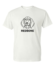 Load image into Gallery viewer, Redbone t-shirt crew neck white