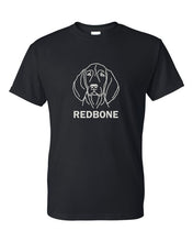 Load image into Gallery viewer, Redbone t-shirt crew neck black