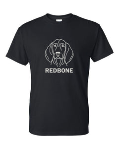 Redbone t-shirt crew neck black