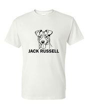 Load image into Gallery viewer, Jack Russell t-shirt crew neck white