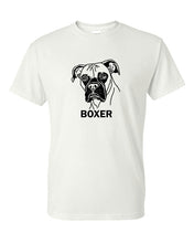 Load image into Gallery viewer, Boxer t-shirt crew neck grey