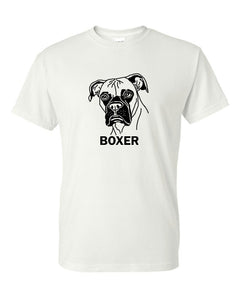 Boxer t-shirt crew neck grey
