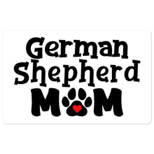 Load image into Gallery viewer, German Shepherd Mom Bubble-free stickers