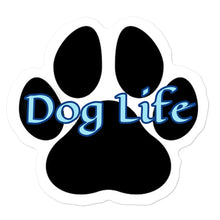 Load image into Gallery viewer, Dog Life blue Bubble-free stickers