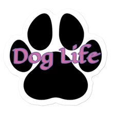 Load image into Gallery viewer, Dog Life pink Bubble-free stickers