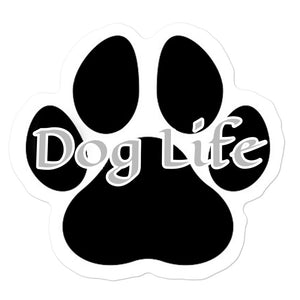 Dog Life Bubble-free stickers
