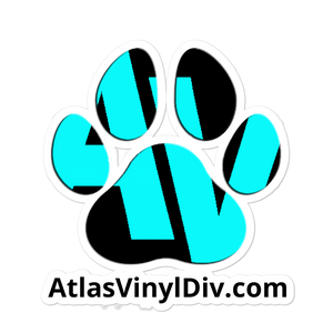 Premium AtlasVinyl Branded Vinyl Sticker