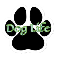 Load image into Gallery viewer, Dog Life green pattern Bubble-free stickers